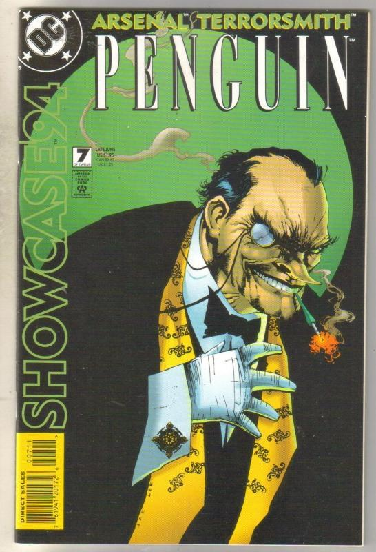 Showcase #7 Arsenal Terrorsmith Penguin  comic book near mint 9.4