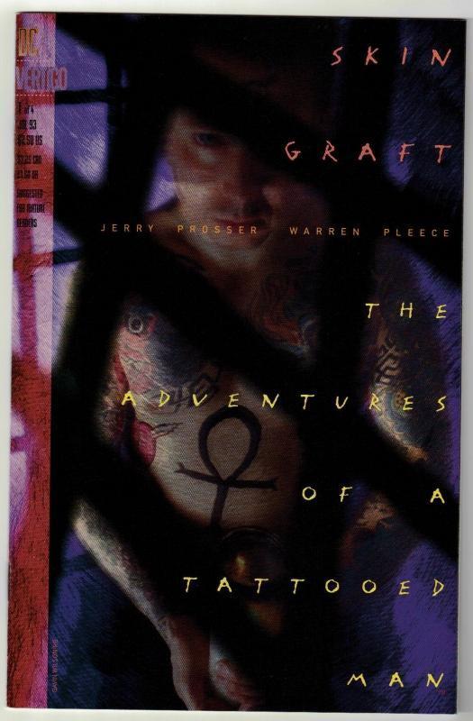 Skin Graft #1 The Adventures of a Tattooed Man Vertigo comic book near mint 9.4
