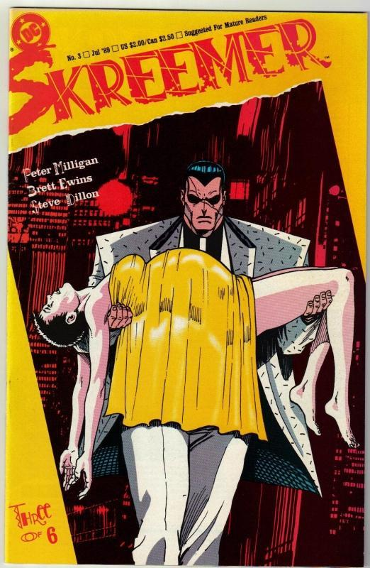 Skreemer #2 comic book near mint 9.4