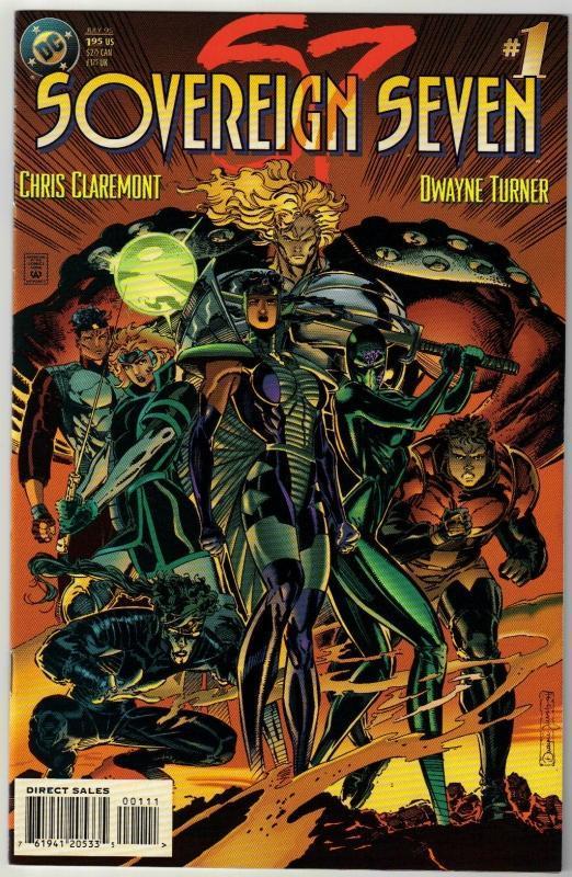 Sovereign Seven #1 comic book near mint 9.4
