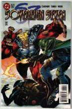 Sovereign Seven #6 comic book near mint 9.4