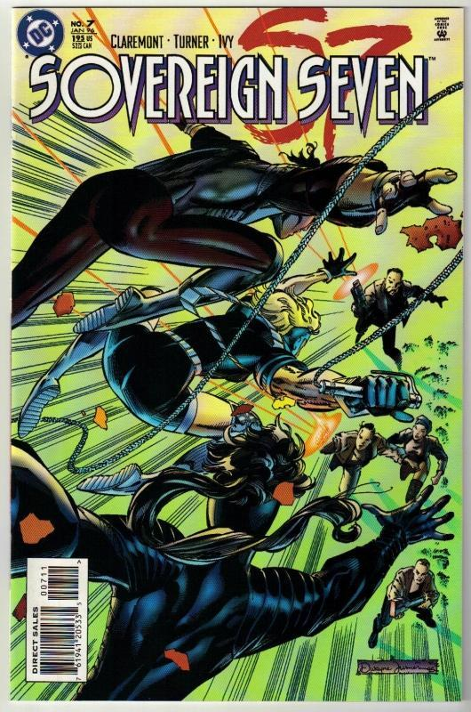 Sovereign Seven #7 comic book near mint 9.4