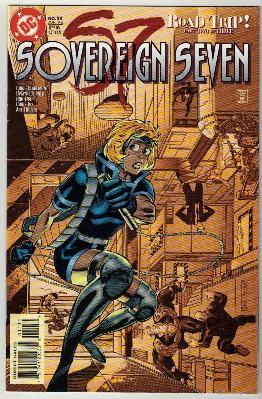 Sovereign Seven #11 comic book near mint 9.4