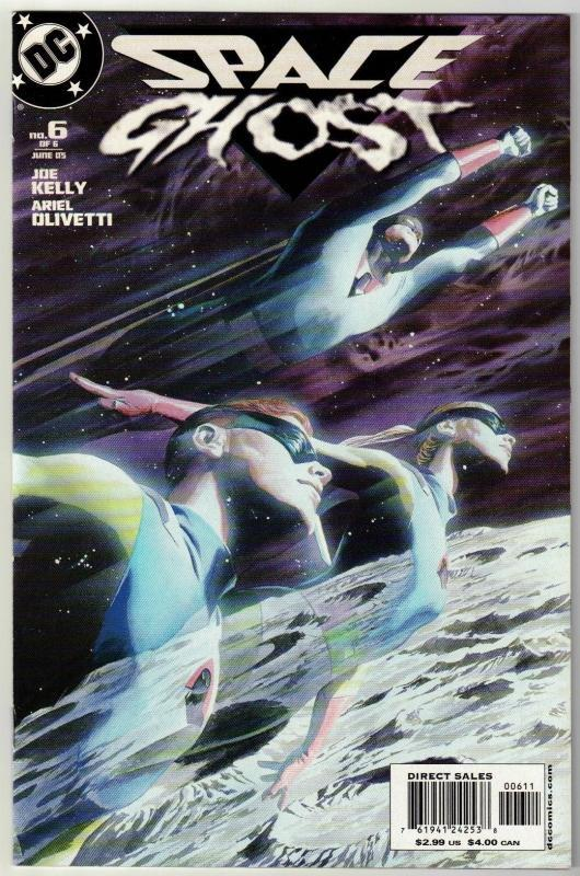 Space Ghost #6 comic boo near mint 9.4