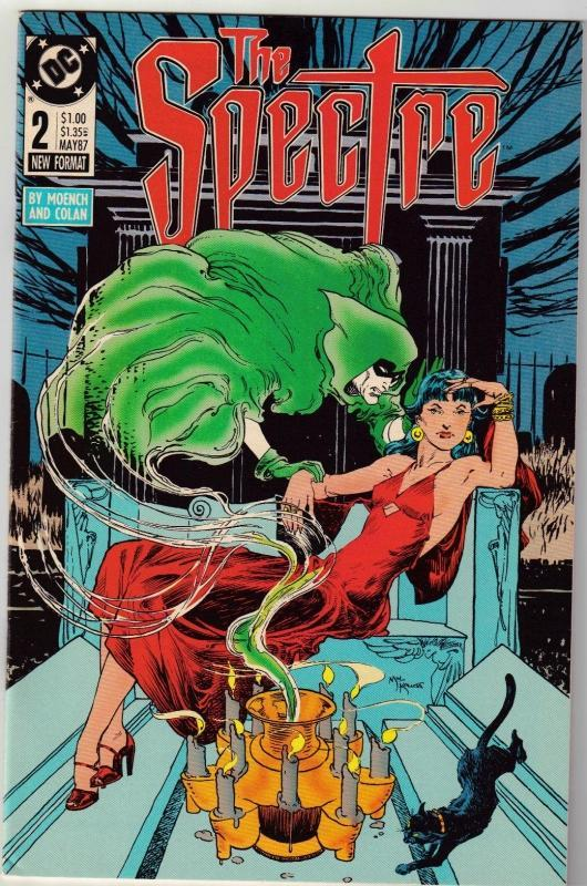 Spectre #2 comic boo near mint 9.4