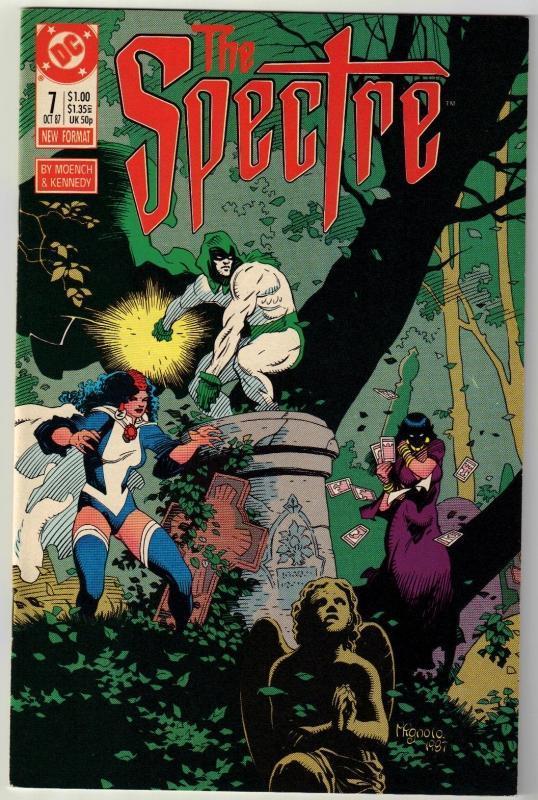 Spectre #7 comic boo near mint 9.4