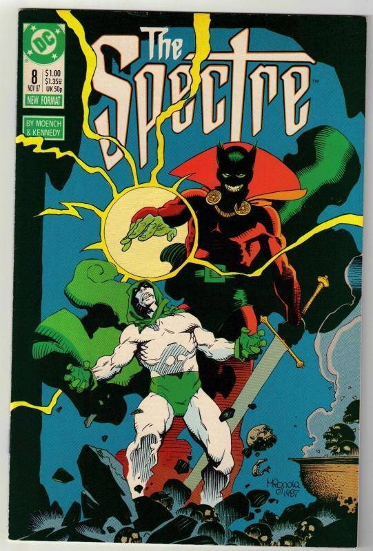 Spectre #8 comic boo near mint 9.4