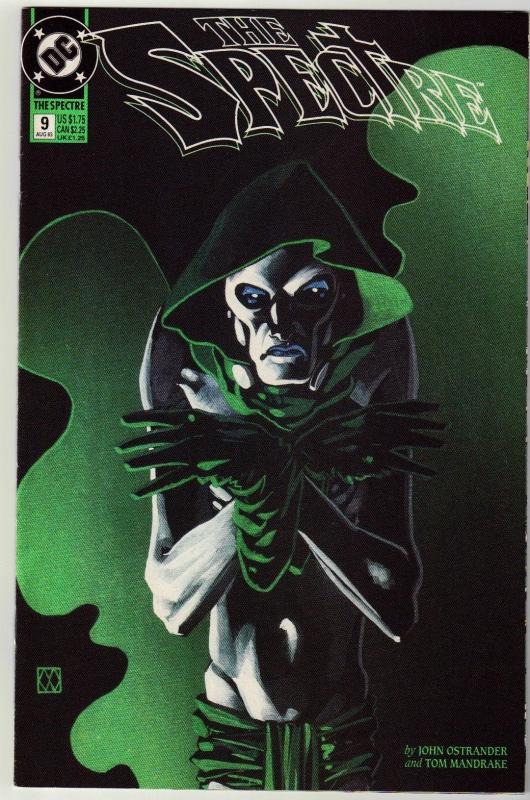 Spectre #9 comic book near mint 9.4