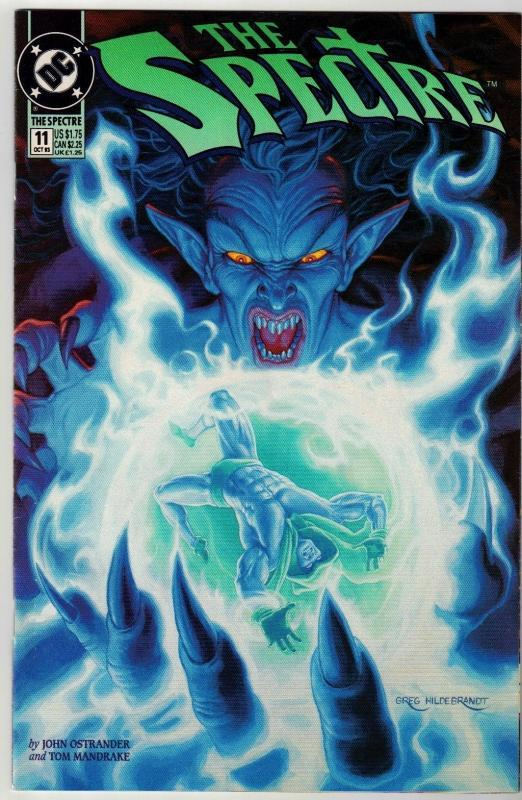 Spectre #11 comic book near mint 9.4