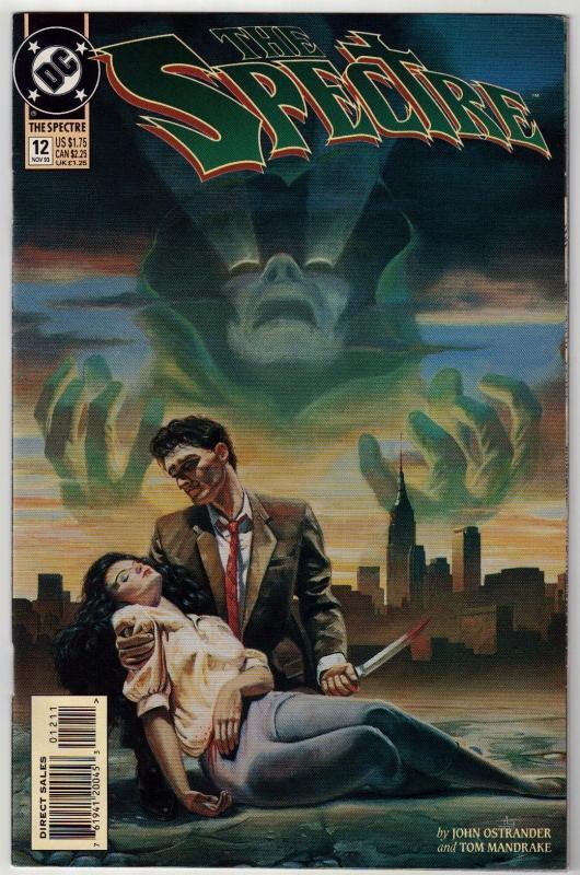 Spectre #12 comic book near mint 9.4