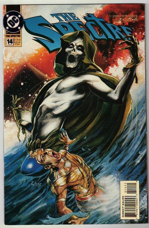 Spectre #14 comic book near mint 9.4