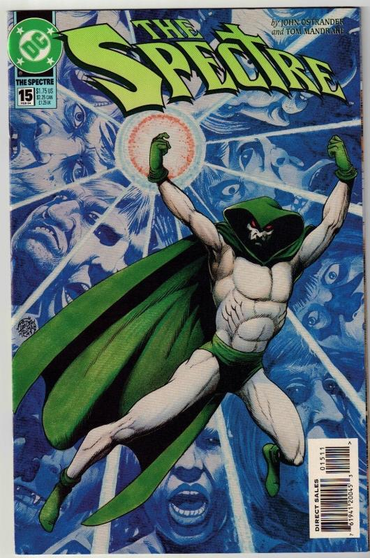 Spectre #15 comic book near mint 9.4