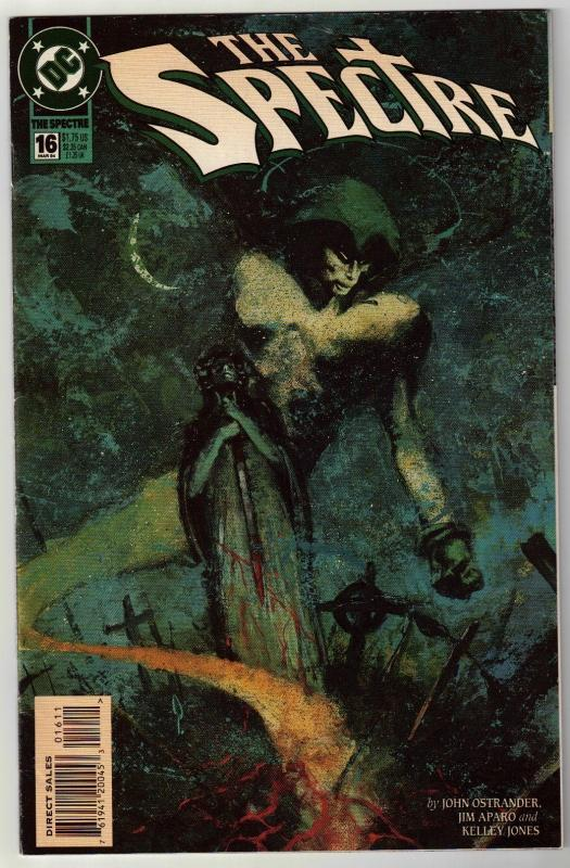 Spectre #16 comic book near mint 9.4