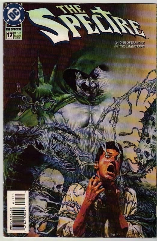 Spectre #17 comic book near mint 9.4