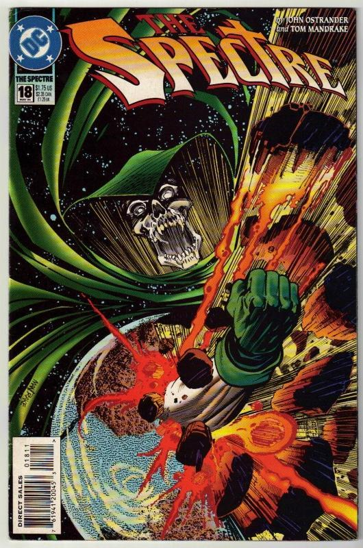 Spectre #18 comic book near mint 9.4
