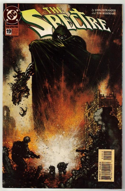 Spectre #19 comic book near mint 9.4