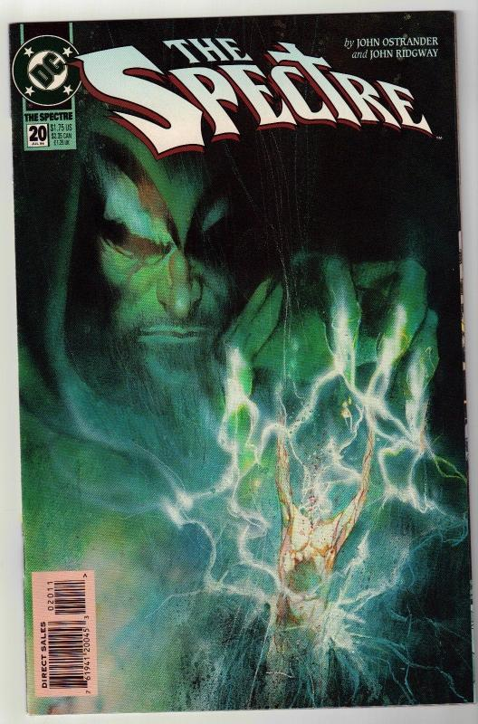Spectre #20 comic book near mint 9.4