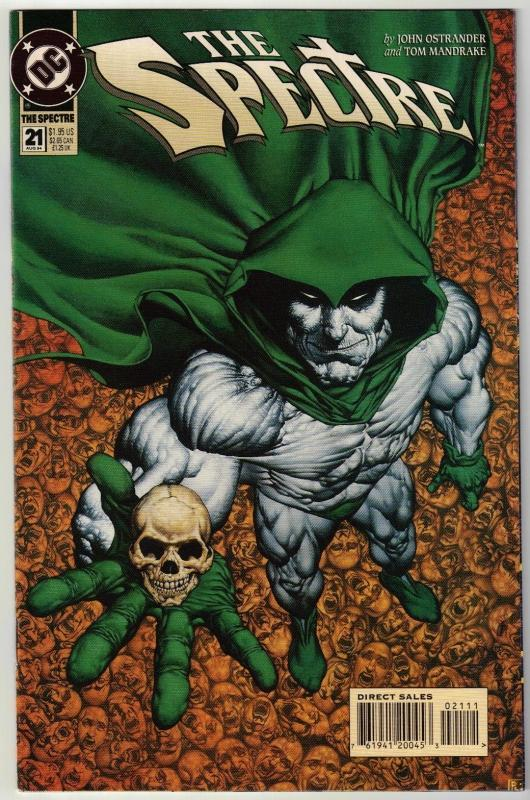 Spectre #21 comic book near mint 9.4