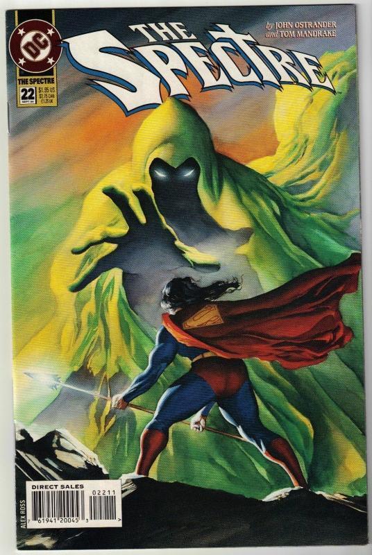 Spectre #22 comic book near mint 9.4