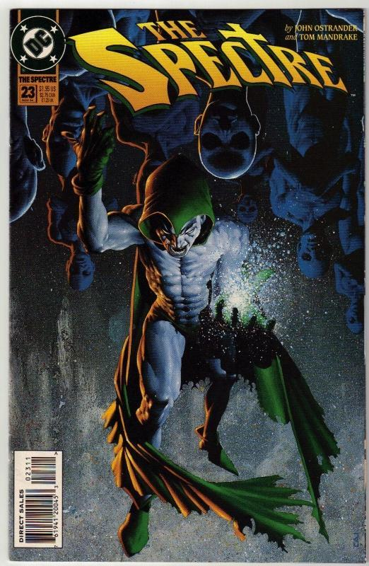 Spectre #23 comic book near mint 9.4