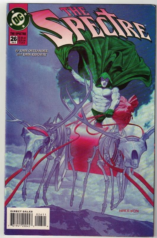 Spectre #26 comic book near mint 9.4