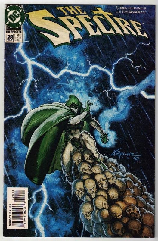 Spectre #28 comic book near mint 9.4