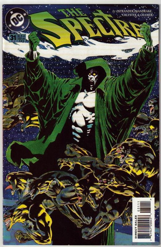 Spectre #31 comic book near mint 9.4