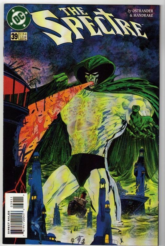 Spectre #39 comic book near mint 9.4