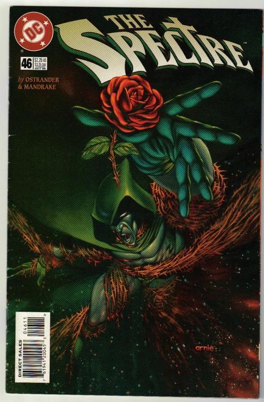 Spectre #46 comic book near mint 9.4