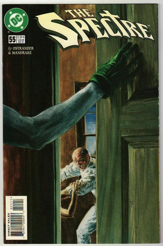 Spectre #55 comic book near mint 9.4