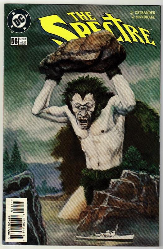 Spectre #56 comic book near mint 9.4
