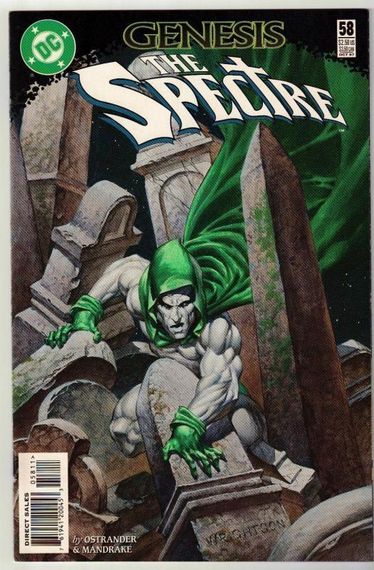 Spectre #58 comic book near mint 9.4