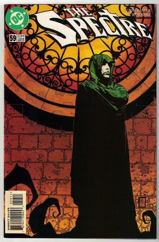 Spectre #59 comic book near mint 9.4