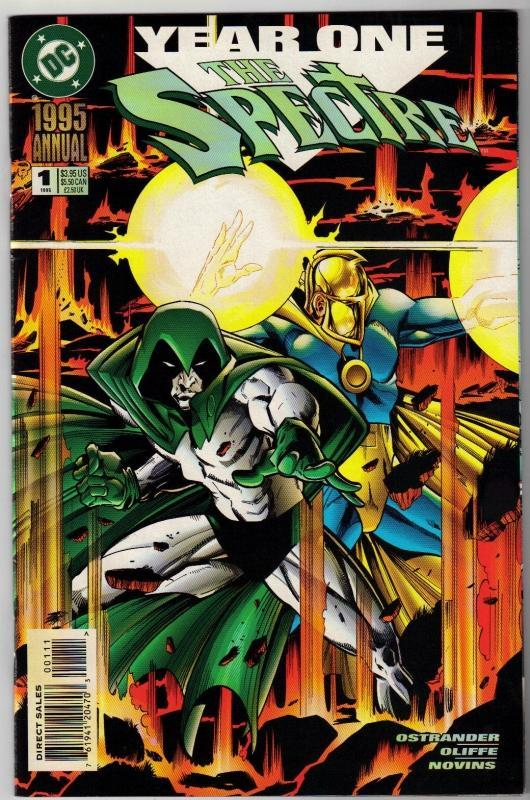 Spectre Annual #1 comic book near mint 9.4