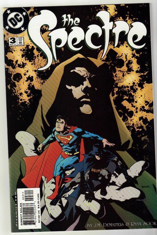 Spectre #3 comic book  mint 9.8