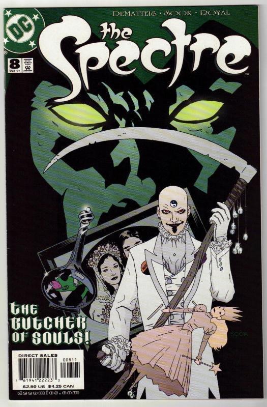 Spectre #8 comic book near mint 9.4