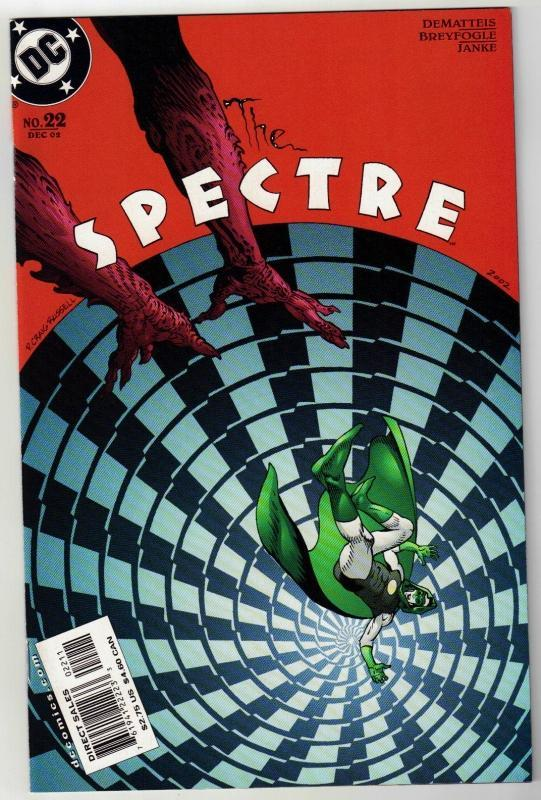 Spectre #22 comic book near mint 9.4