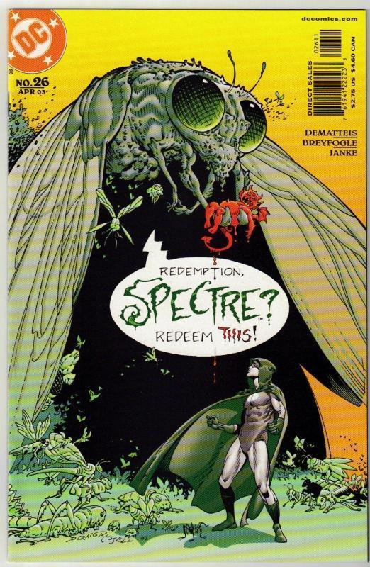 Spectre #26 comic book near mint 9.4