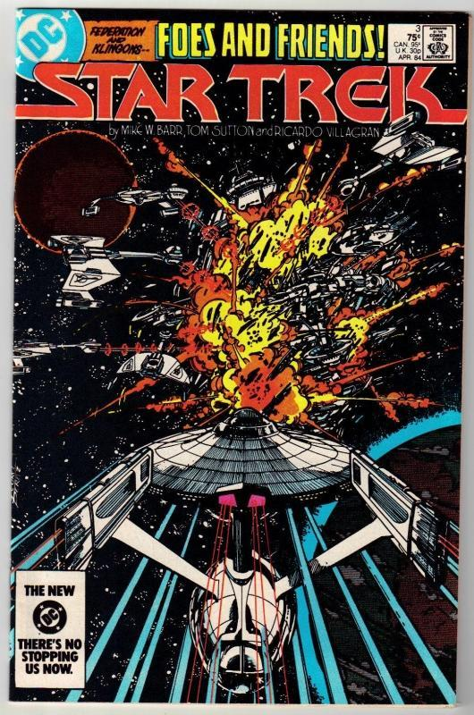 Star Trek #3 comic book near mint 9.4