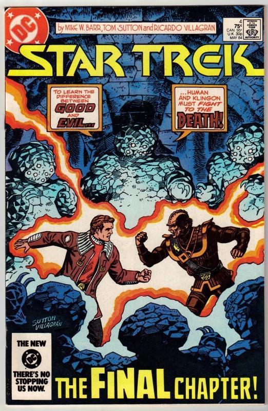Star Trek #4 comic book near mint 9.4