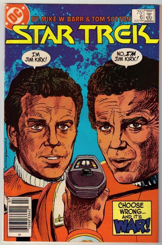 Star Trek #6 comic book near mint 9.4