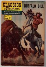 Classics Illustrated #106 Buffalo Bill comic book very good/fine 5.0 HRN #166