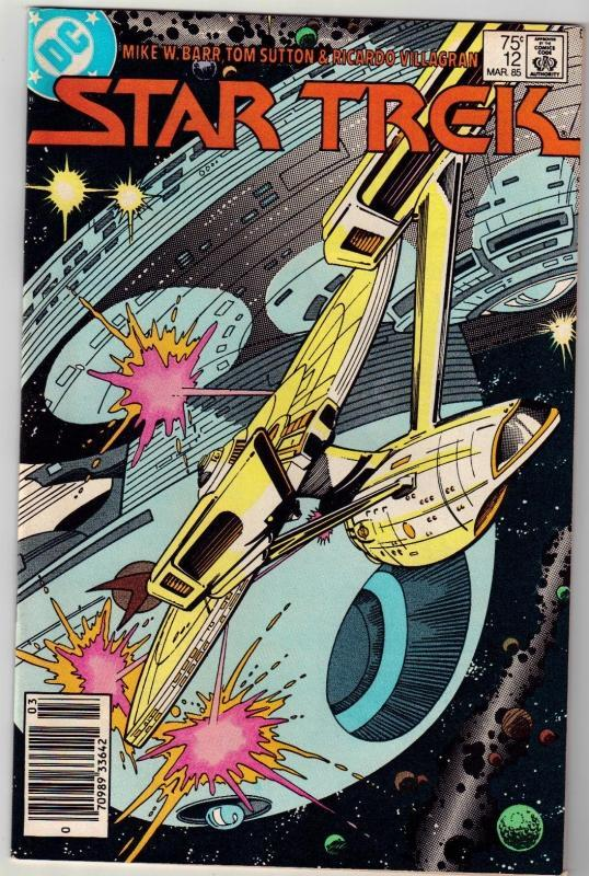 Star Trek #12 comic book near mint 9.4