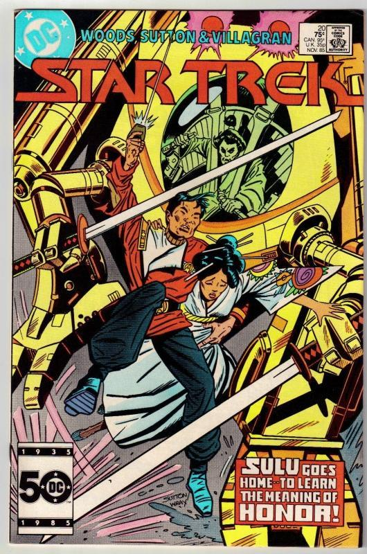 Star Trek #20 comic book near mint 9.4