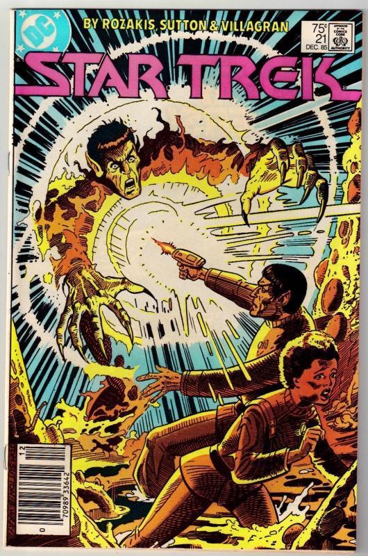 Star Trek #21 comic book near mint 9.4