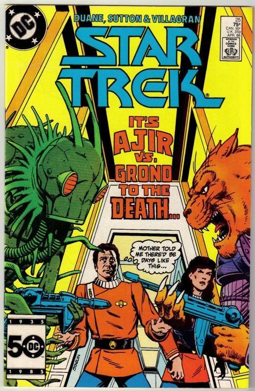 Star Trek #25 comic book near mint 9.4