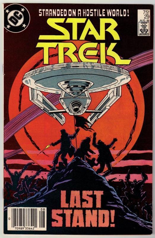 Star Trek #29 comic book very fine/near mint 9.0