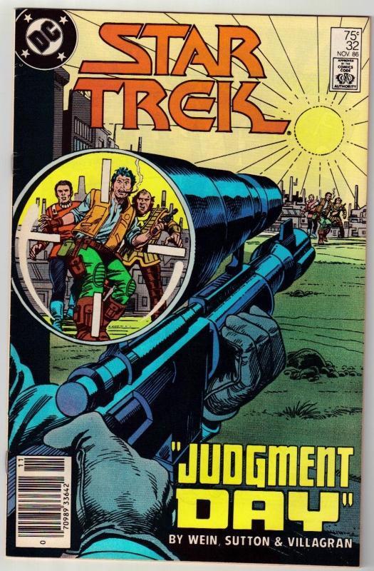 Star Trek #32 comic book near mint 9.4