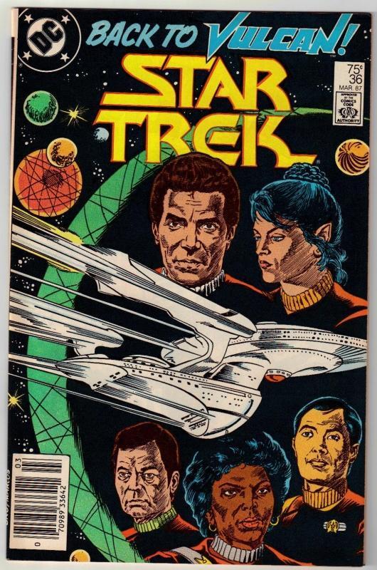 Star Trek #36 comic book near mint 9.4