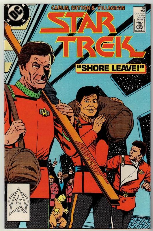 Star Trek #46 comic book near mint 9.4